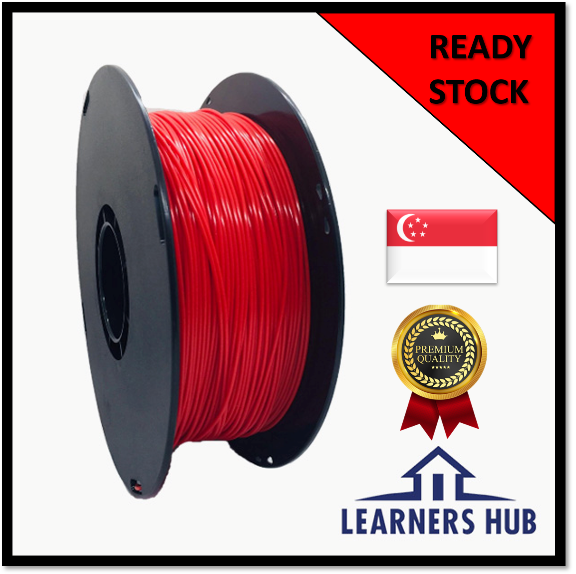 1kg 1.75mm Red PLA Filament