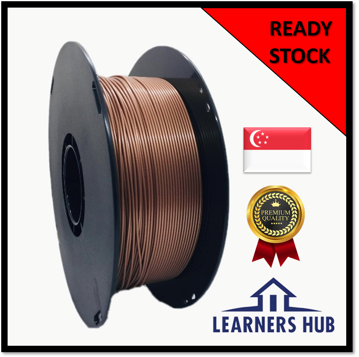 900g 1.75mm Copper PLA Filament