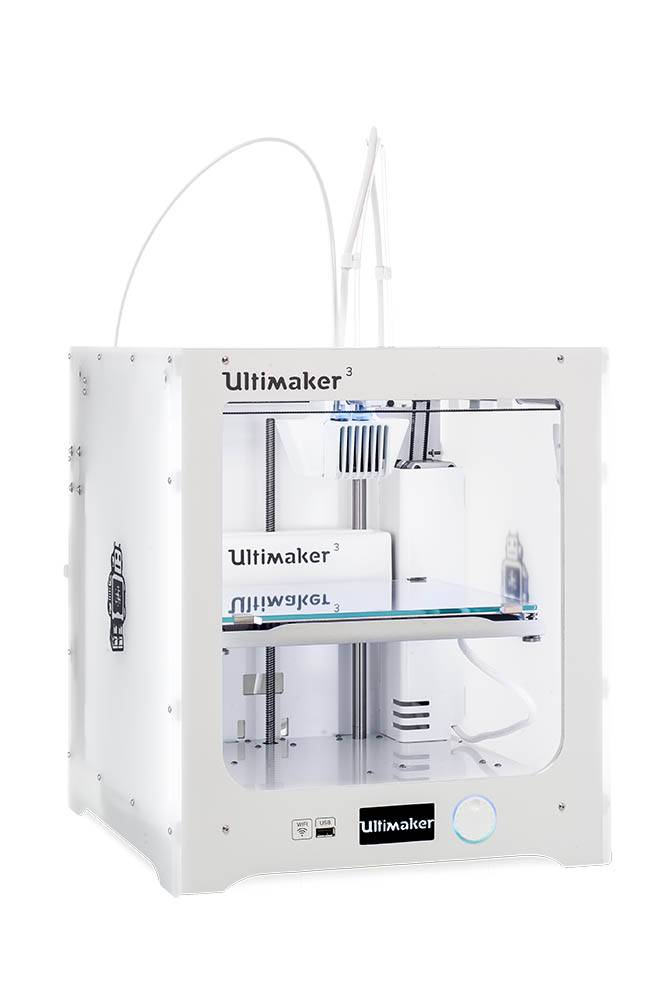 Ultimaker  Build Plate Dimensiosn