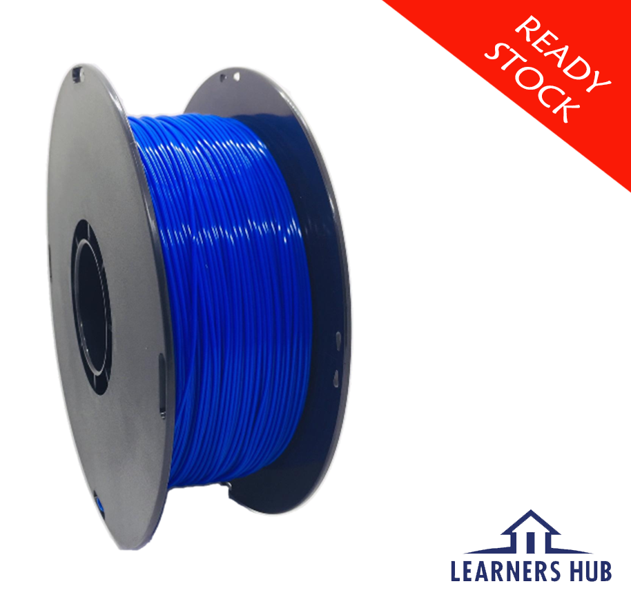 1kg 1.75mm Medium Blue PLA Filament