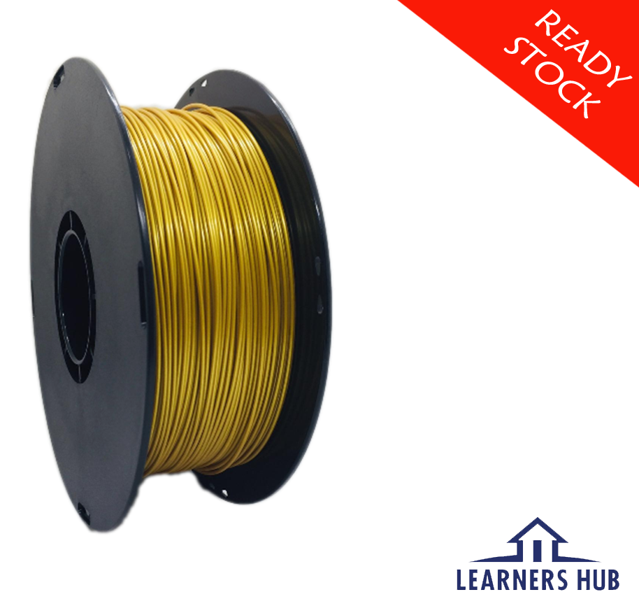 900g 1.75mm Gold PLA Filament