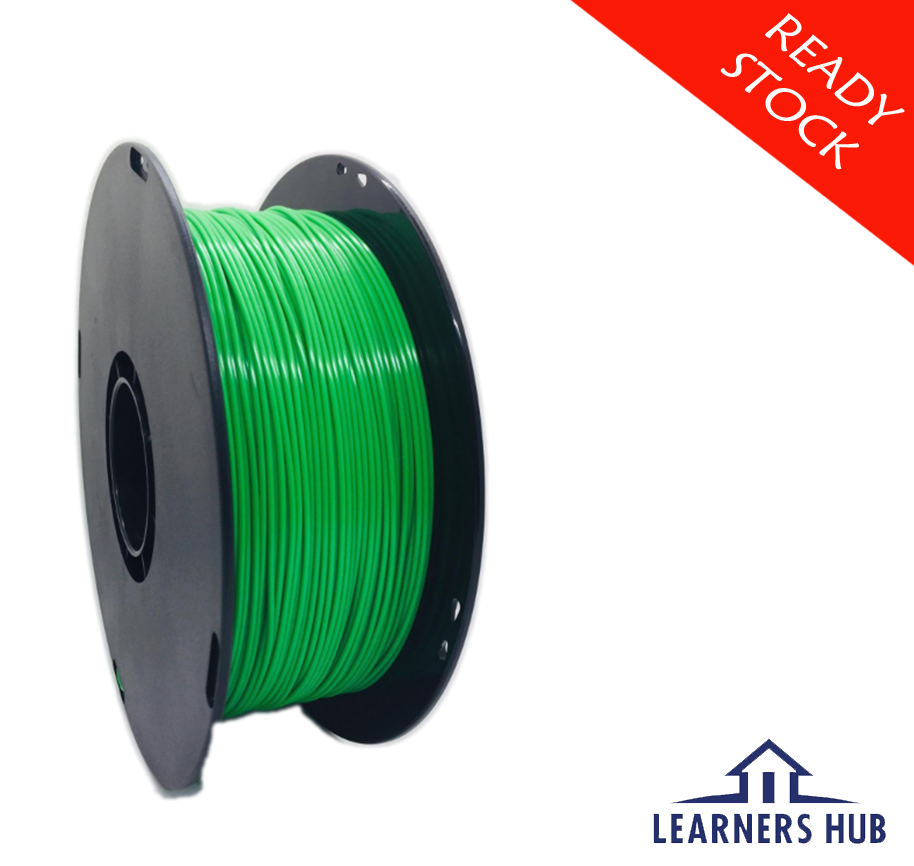 900g 1.75mm Fluorescent Green PLA Filament