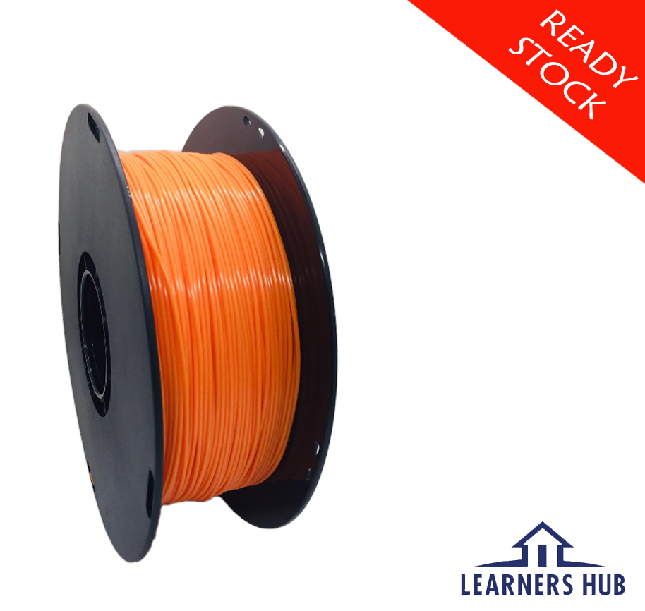 900g 1.75mm Orange PLA Filament