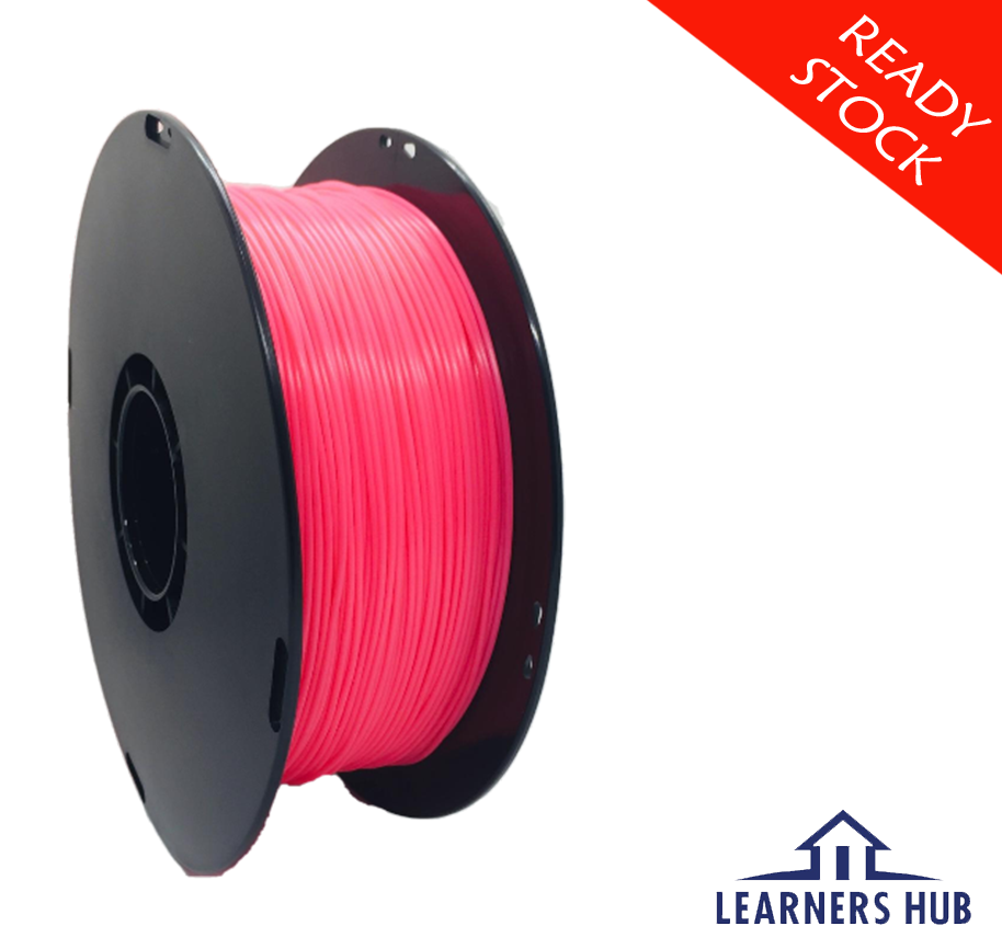 900g 1.75mm Fluorescent Pink PLA Filament