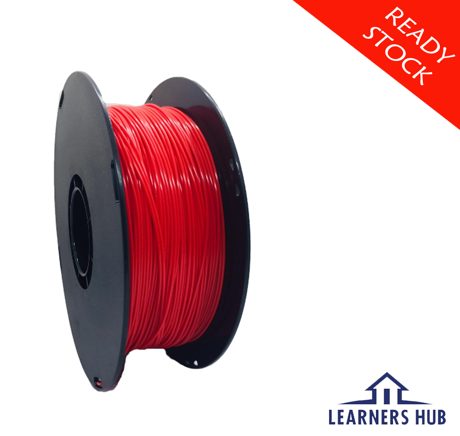 900g 1.75mm Red PLA Filament