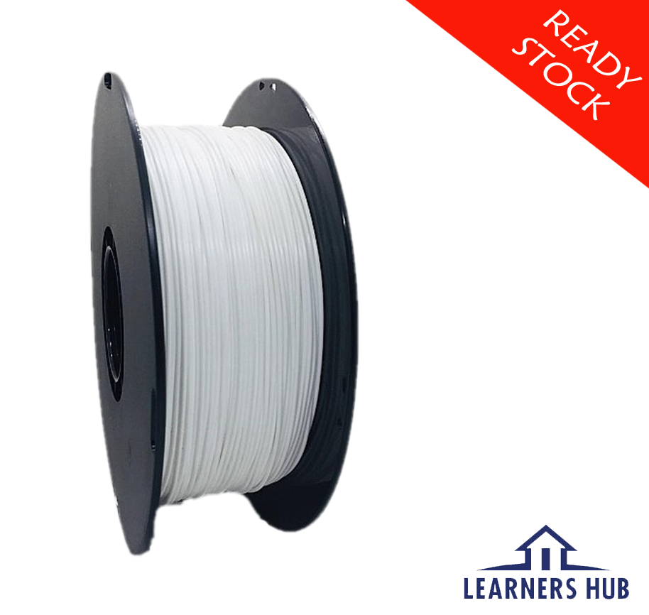 900g 1.75mm White PLA Filament