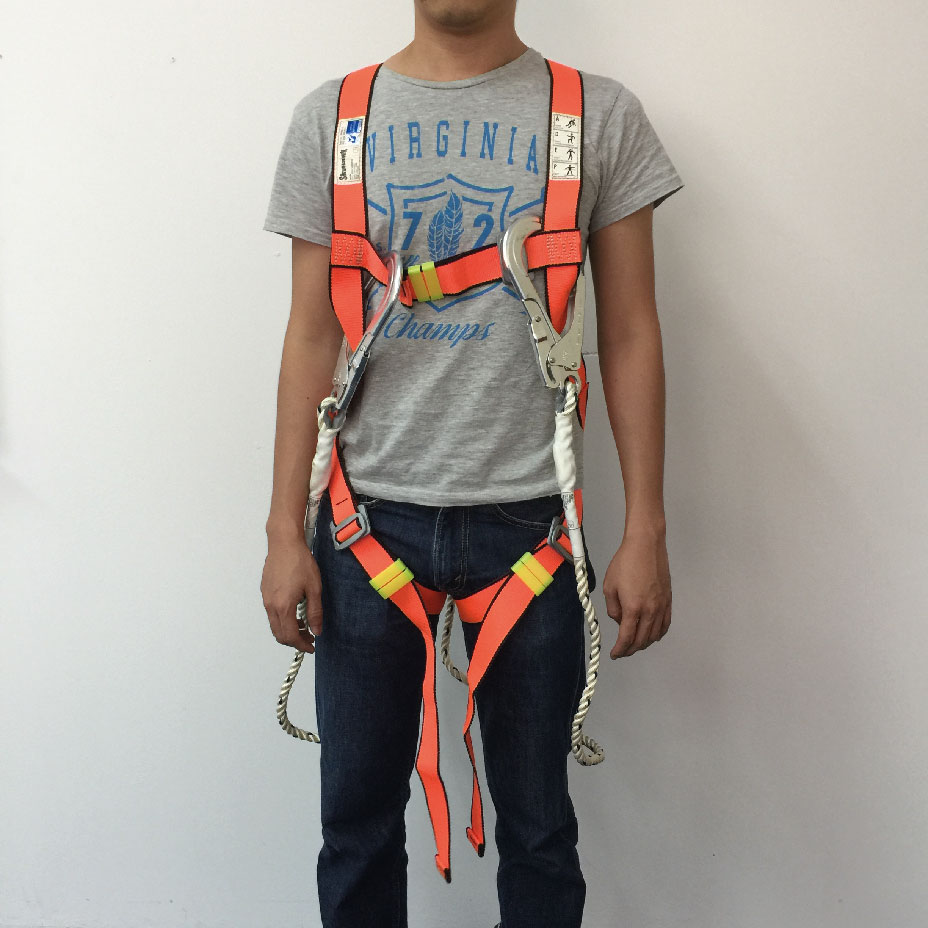Skyhawk Full Body Harness and Energy Absorbing Lanyard